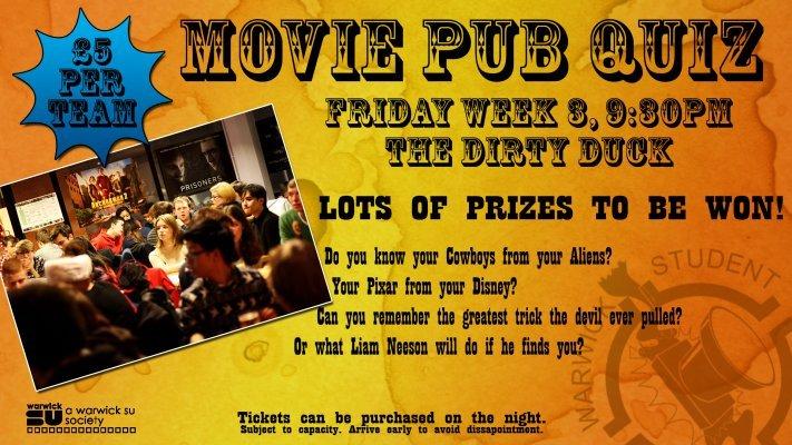 Movie Pub Quiz