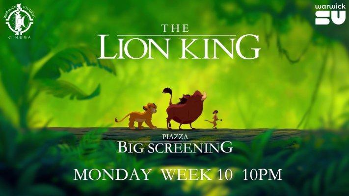 BIG SCREENING - The Lion King