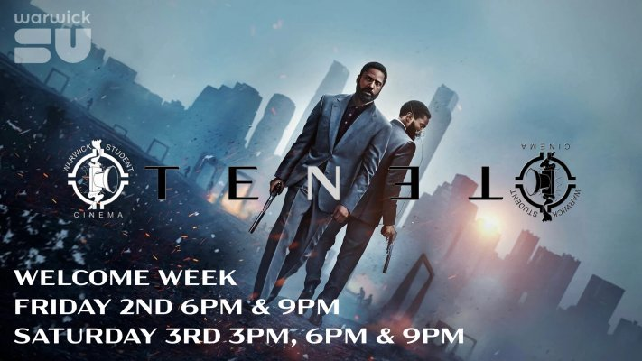 Tenet - Welcome Week