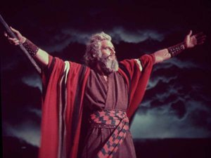 An image from The Ten Commandments