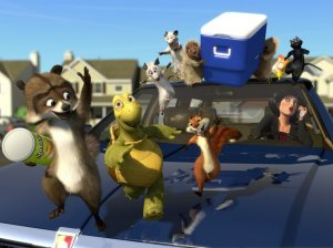An image from Over The Hedge