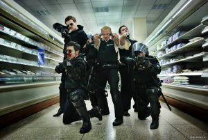 An image from Hot Fuzz