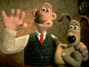 An image from Wallace & Gromit: The Wrong Trousers