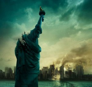 An image from Cloverfield