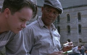 An image from The Shawshank Redemption