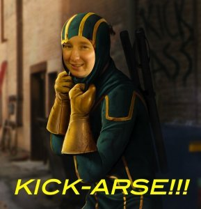 An image from Kick-Arse