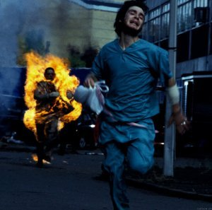 An image from 28 Days Later