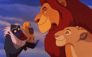 An image from The Lion King