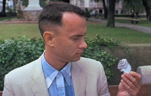 An image from Forrest Gump
