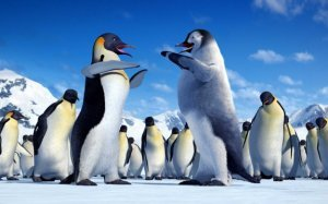 An image from Happy Feet Two