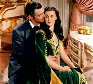 An image from Gone with the Wind