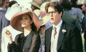 An image from Four Weddings and a Funeral