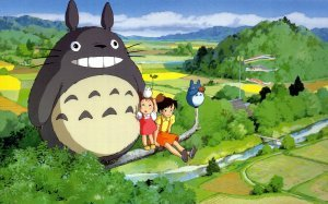 An image from My Neighbour Totoro