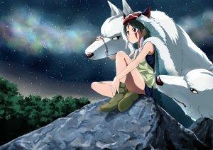 An image from Princess Mononoke