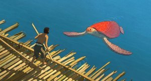 An image from The Red Turtle