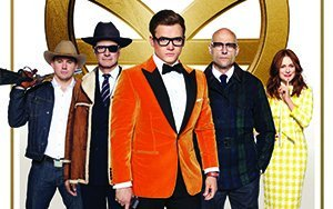 An image from Kingsman: The Golden Circle