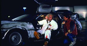 An image from Back to the Future Marathon