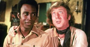 An image from Blazing Saddles
