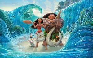 An image from BIG SCREENING: Moana