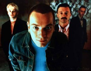 An image from Trainspotting