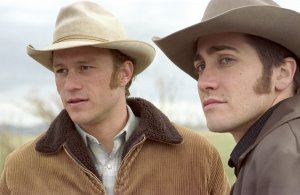 An image from Brokeback Mountain