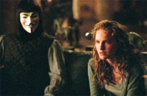 An image from V for Vendetta