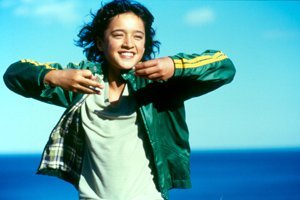 An image from Whale Rider