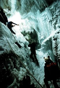 An image from Touching the Void