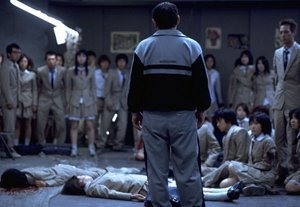 An image from Battle Royale