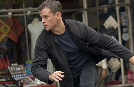 Jason Bourne runs to catch the FREE SHOWING of Half Nelson