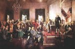 Howard Christy's Scene at the Signing of the Constitution of the United States